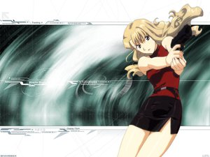 Rating: Safe Score: 3 Tags: blonde_hair gun mireille_bouquet noir weapon User: Oyashiro-sama