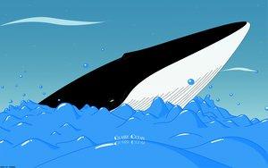 Rating: Safe Score: 3 Tags: blue glassy_ocean shigeru_tamura signed water User: Manifold