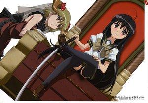 Rating: Safe Score: 9 Tags: shakugan_no_shana shana sword weapon yoshida_kazumi User: Oyashiro-sama