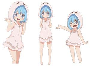 Rating: Safe Score: 146 Tags: aoi_tori_(artist) blue_eyes blue_hair blush chibi hoodie loli original short_hair white User: otaku_emmy