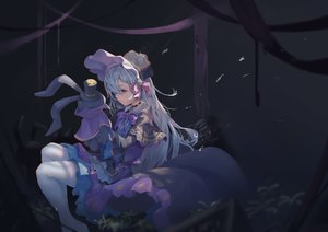 Rating: Safe Score: 26 Tags: bacteria_101 bow bunny choker dress goth-loli gray_hair hat king's_raid lavril_(king's_raid) lolita_fashion long_hair pantyhose purple_eyes tears User: BattlequeenYume