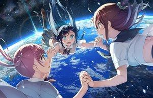 Rating: Safe Score: 54 Tags: earth kantoku original planet seifuku space User: RyuZU