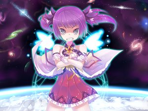 Rating: Safe Score: 63 Tags: aisha_(elsword) dexp dress elsword purple_hair space twintails User: opai