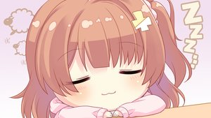 Rating: Safe Score: 21 Tags: blush brown_hair cat_smile chibi chiyuki_touko close game_cg giga gradient hinata_momo long_hair ponytail soi_kano_~gyutto_dakishimete~ User: RyuZU