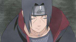 Rating: Safe Score: 6 Tags: all_male black_hair close headband male naruto necklace short_hair uchiha_itachi vector User: RyuZU