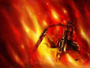 Rating: Safe Score: 4 Tags: fate_(series) fate/stay_night fire tagme User: Oyashiro-sama