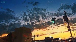 Rating: Safe Score: 67 Tags: banishment building city clouds landscape original scenic signed sky sunset User: Dreista