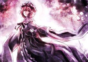 Rating: Safe Score: 60 Tags: bow dress hat jan_(lightdragoon) japanese_clothes kimono pink_eyes pink_hair polychromatic ribbons saigyouji_yuyuko short_hair touhou User: minabiStrikesAgain