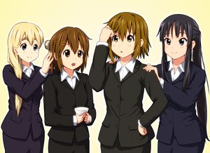 Rating: Safe Score: 57 Tags: akiyama_mio black_hair blonde_hair blue_eyes brown_eyes brown_hair diesel-turbo drink hirasawa_yui k-on! kotobuki_tsumugi tainaka_ritsu User: RyuZU