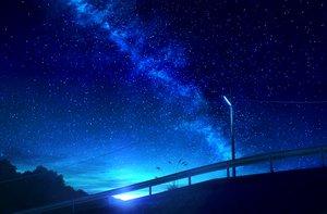 Rating: Safe Score: 80 Tags: mks nobody original scenic sky stars User: RyuZU
