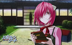 Rating: Safe Score: 21 Tags: animal_ears elfen_lied lucy_(elfen_lied) pink_hair red_eyes tears User: Lenz0