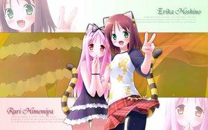 Rating: Safe Score: 25 Tags: animal_ears catgirl garden_(galge) himemiya_ruri hoshino_erika User: Wizzard