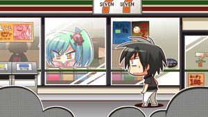 Rating: Safe Score: 39 Tags: book chibi enomoto_yoshika game_cg green_hair komowata_haruka maikaze_no_melt whirlpool User: Wiresetc