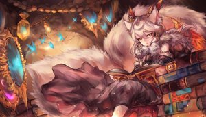 Rating: Safe Score: 80 Tags: ilmina_(p&d) mi_bait puzzle_&_dragons User: FormX