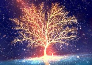 Rating: Safe Score: 13 Tags: bou_nin original polychromatic scenic tree User: mattiasc02