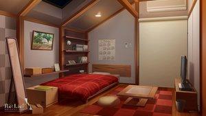 Rating: Safe Score: 81 Tags: bed logo mikago_kotaro mirror nobody rask realistic re:lief_~shin'ai_naru_anata_e~ scenic User: RyuZU