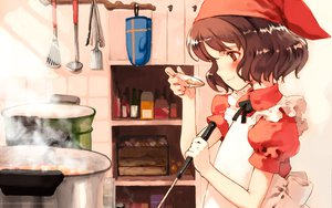 Rating: Safe Score: 12 Tags: food littlewitch oyari_ashito quartett! User: Oyashiro-sama