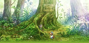 Rating: Safe Score: 31 Tags: 2girls black_eyes black_hair braids brown_hair flowers forest hakumei_(hakumei_to_mikochi) hakumei_to_mikochi hat long_hair mikochi_(hakumei_to_mikochi) scenic stairs tagme_(artist) tree User: RyuZU
