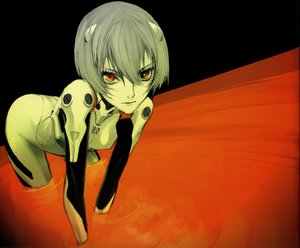 Rating: Safe Score: 35 Tags: ayanami_rei neon_genesis_evangelion User: Anime_man