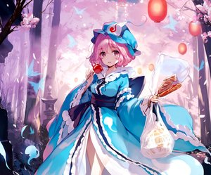 Rating: Safe Score: 101 Tags: apple butterfly candy cherry_blossoms cropped dress flowers food forest fruit hat japanese_clothes ke-ta pink_eyes pink_hair saigyouji_yuyuko short_hair stairs torii touhou tree User: otaku_emmy
