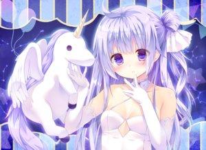 Rating: Safe Score: 39 Tags: anthropomorphism azur_lane blush cedama elbow_gloves gloves long_hair purple_eyes purple_hair unicorn_(azur_lane) User: RyuZU