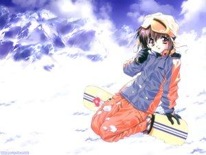 Rating: Safe Score: 9 Tags: minakami_mamoru sister_princess snow tenhiro_naoto winter User: Oyashiro-sama