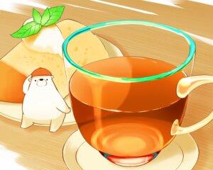 Rating: Safe Score: 12 Tags: animal bear cake chai_(artist) cropped drink food hat leaves nobody original polychromatic signed User: otaku_emmy