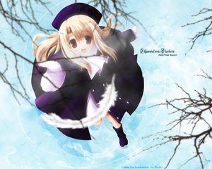 Rating: Safe Score: 6 Tags: fate/stay_night illyasviel_von_einzbern snow winter User: Oyashiro-sama