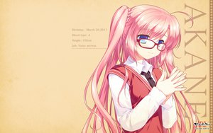 Rating: Safe Score: 58 Tags: akabeisoft2 alpha_(alpha91) glasses pink_hair tagme twintails User: Wiresetc