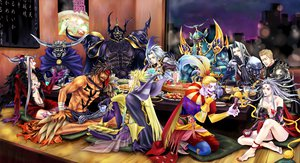 Rating: Questionable Score: 26 Tags: cloud_of_darkness dissidia_final_fantasy exdeath gabranth garland golbez guernica jecht kefka_palazzo kuja sephiroth the_emperor ultimecia User: lost91colors