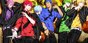 Rating: Safe Score: 42 Tags: akashi_seijuurou aomine_daiki bicolored_eyes blonde_hair blue_eyes blue_hair glasses green_eyes green_hair kise_ryouta kuroko_no_basket kuroko_tetsuya midorima_shintarou murasakibara_atsushi purple_eyes purple_hair red_hair short_hair yellow_eyes yuna_(rutera) User: Maboroshi