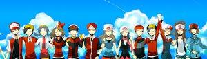 Rating: Safe Score: 62 Tags: araragi_shion black_hair blue_hair brown_hair clouds group haruka_(pokemon) hat hibiki hikari_(pokemon) kotone_(pokemon) kouki_(pokemon) kris_(pokemon) leaf_(pokemon) nintendo pokemon red_(pokemon) sky touko_(pokemon) touya_(pokemon) yuuki_(pokemon) User: STORM