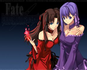Rating: Safe Score: 34 Tags: black dress fate/hollow_ataraxia fate/stay_night matou_sakura shingo_(missing_link) tohsaka_rin User: Oyashiro-sama