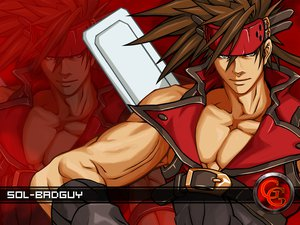 Rating: Safe Score: 5 Tags: guilty_gear jpeg_artifacts male sol_badguy User: genesis682