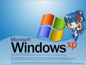 Rating: Safe Score: 7 Tags: anthropomorphism hirai_yukio kakuaki os-tan windows xp User: Oyashiro-sama