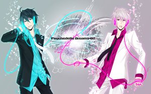 Rating: Safe Score: 63 Tags: cigarette durarara!! headphones heiwajima_shizuo smoking suit tie User: HawthorneKitty