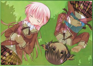 Rating: Safe Score: 14 Tags: brown_hair pink_hair sanarara school_uniform shiina_nozomi yuriko User: Oyashiro-sama