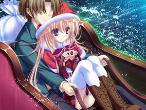 Rating: Safe Score: 26 Tags: blonde_hair christmas game_cg meri_chri mikagami_mamizu night purple_eyes santa_costume seiya_mashiro whirlpool User: Wiresetc