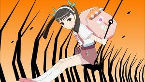 Rating: Safe Score: 6 Tags: 3d bakemonogatari hachikuji_mayoi loli monogatari_(series) User: 秀悟
