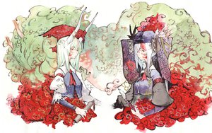 Rating: Safe Score: 19 Tags: kamishirasawa_keine touhou User: Capi