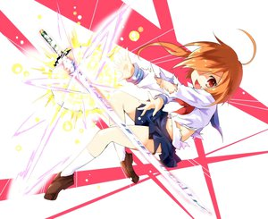 Rating: Safe Score: 63 Tags: ayakashi_(monkeypanch) original sword torn_clothes weapon User: FormX