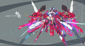 Rating: Safe Score: 104 Tags: infinite_stratos jpeg_artifacts mecha nenchi shinonono_houki sword weapon User: FormX