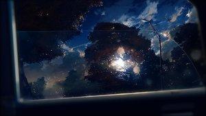 Rating: Safe Score: 23 Tags: clouds dark original rain realistic sky tagme_(artist) tree water User: BattlequeenYume