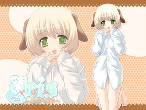 Rating: Safe Score: 5 Tags: doggirl green_eyes tagme User: Oyashiro-sama