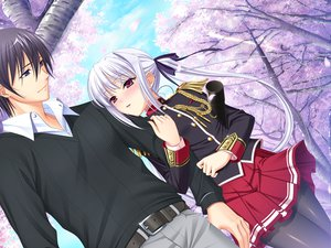 Rating: Safe Score: 45 Tags: game_cg komori_kei lisa_eostre male mizuno_takahiro ricotta walkure_romanze User: Maboroshi