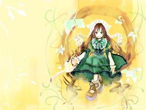 Rating: Safe Score: 17 Tags: bicolored_eyes lolita_fashion rozen_maiden suiseiseki ushiki_yoshitaka yellow User: Oyashiro-sama