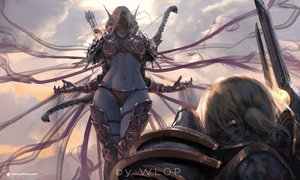 Rating: Safe Score: 102 Tags: logo sylvanas_windrunner watermark wlop world_of_warcraft User: RyuZU
