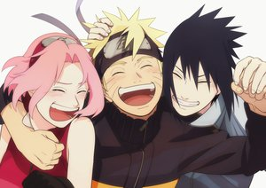 Rating: Safe Score: 66 Tags: black_hair blonde_hair blush gloves haruno_sakura headband hug male naruto naruto_shippuden oba-min pink_hair short_hair uchiha_sasuke uzumaki_naruto User: FormX