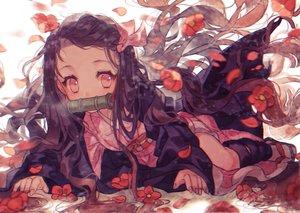 Rating: Safe Score: 29 Tags: flowers gag kamado_nezuko kimetsu_no_yaiba yasiromann User: FormX