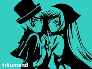 Rating: Safe Score: 19 Tags: 2girls bicolored_eyes polychromatic rozen_maiden souseiseki suiseiseki twins User: vaxim